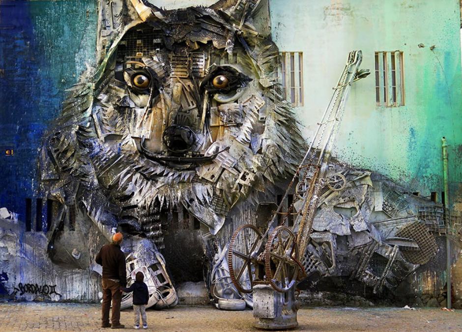 Ekologiczny street art